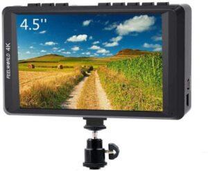 External Camera Screen - FEELWORLD FW450 4.5-inch Camera Field Monitor