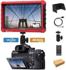 External Camera Screen - Lilliput A7s 7-inch