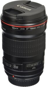 Best Canon Lens for Portrait - Canon EF 135mm f-2L USM