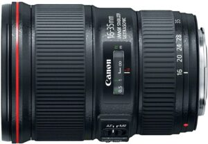 Best Canon Lens for Landscape Photography - Canon EF 16-35mm f-4L IS USM