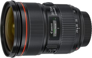 Best Canon Lens for Landscape Photography - Canon EF 24-70mm f-2.8L II USM