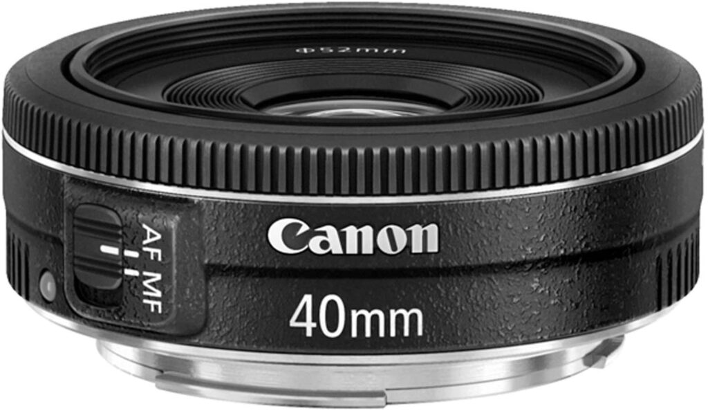Best Canon Lens for Portrait - Canon EF 40mm f-2.8 STM