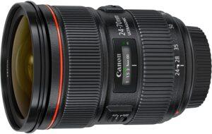 Best Canon Lens for Portrait - Canon EF 24-70mm