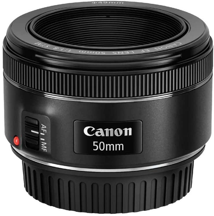 Best Canon Lens for Portrait - Canon EF 50mm f-1.8 STM