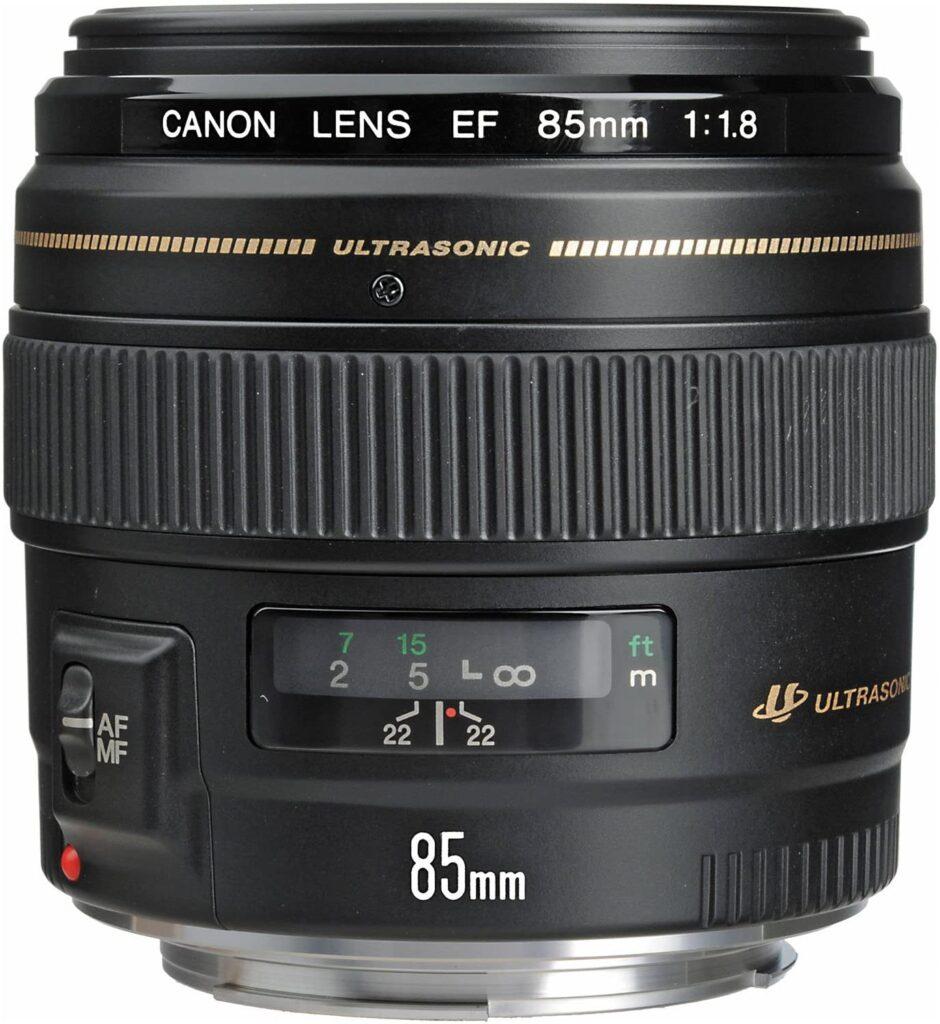 Best Canon Lens for Portrait - Canon EF 85mm f-1.8 USM