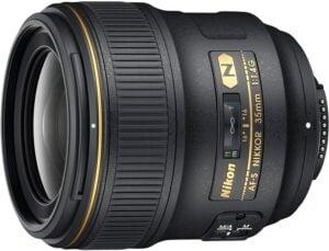 Best Nikon Portrait Lens - Nikon AF-S NIKKOR 35mm