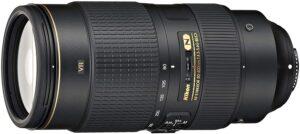 Best Nikon Portrait Lens - Nikon AF-S NIKKOR 80-400mm f