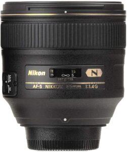 Best Nikon Lens for Portrait - Nikon AF-S NIKKOR 85mm f