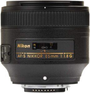 Best Nikon Portrait Lens - Nikon AF-S NIKKOR 85mm f1.8G