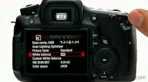 Canon 80d Landscape Settings AWB