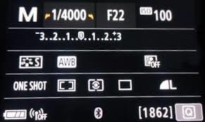 Canon 80d Landscape Settings RAW