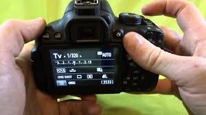 Canon T6i landscape settings - shutter speed