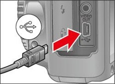 how to connect canon eos r to computer - usb port