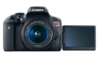 Canon EOS T6i portrait settings