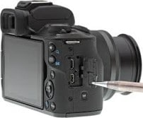 How to connect camera to computer and record - connect smaller end of usb USB to camera