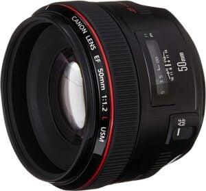 Best Canon Wedding Lens - Canon EF 50mm f1.2 L USM