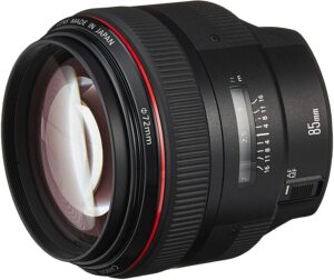 Best Canon Wedding Lens - Canon EF 85mm f1.2L II USM