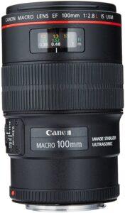 Best Canon Wedding Lens - Canon EF 100mm f-2.8L IS USM Macro Lens