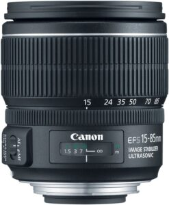 Best Canon Wedding Lens - Canon EF-S 15-85mm f-3.5-5.6 IS USM