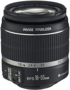 Best Canon Wedding Lens - Canon EF-S 18-55mm f-3.5-5.6 SLR Lens
