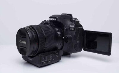 Canon 80D Vlogging