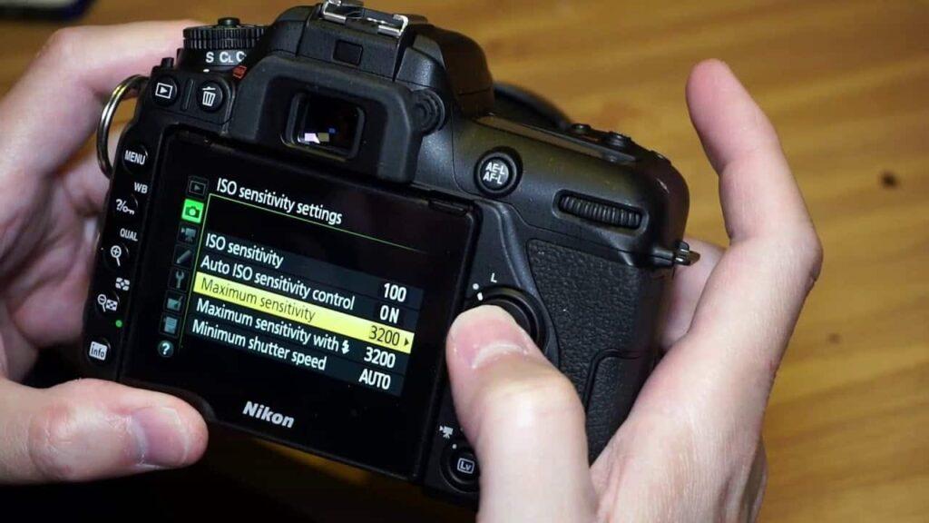Nikon D7500 wedding photography - ISO settings