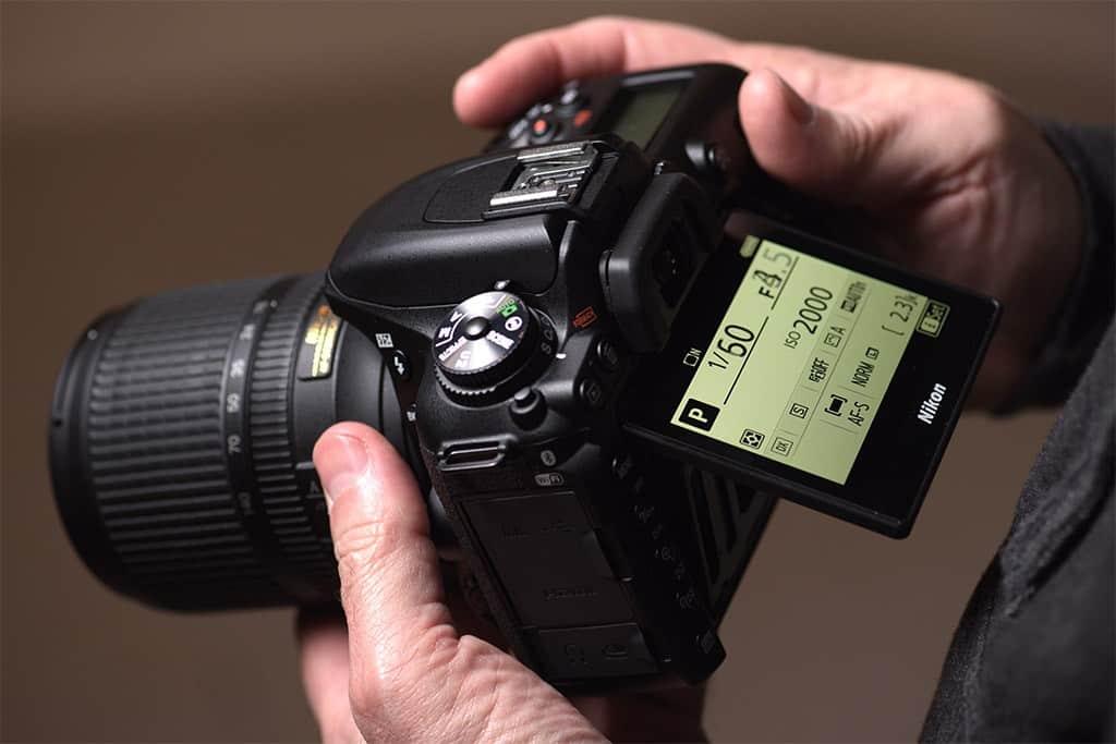 Nikon D7500 wedding photography - shutter speed