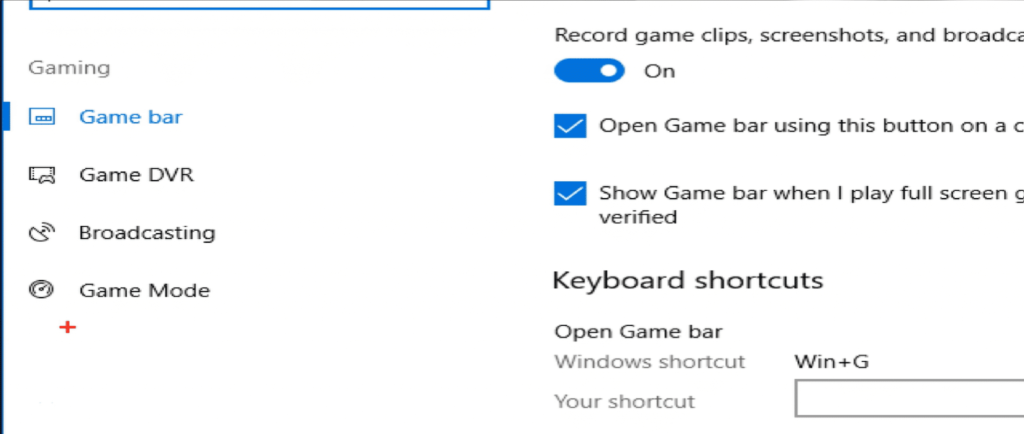 How to activate Windows 10 game mode