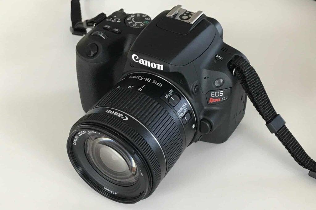 Canon EOS Rebel SL2 Flip Screen Camera