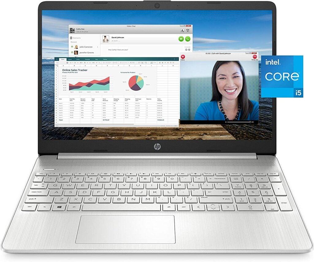 Best laptop for online classes - HP 15 Laptop