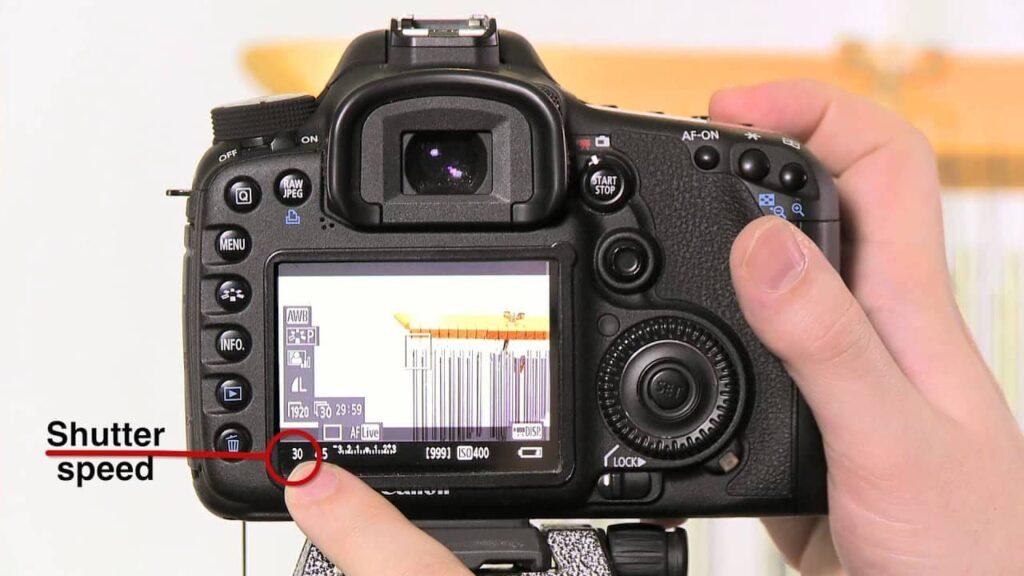 Canon 7d mark ii wedding - shutter speed