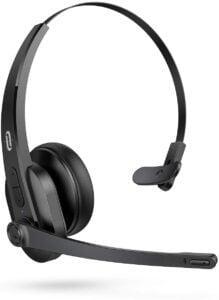 Kids Headphones with Microphone - TaoTronics Trucker Bluetooth Headset