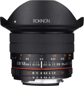Best Canon Fisheye Lenses - Rokinon 12mm