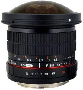 Best Canon Fisheye Lenses - Rokinon 8mm