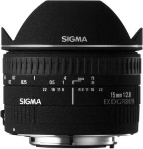 Best Canon Fisheye Lenses - Sigma 15mm