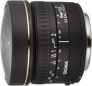 Best Canon Fisheye Lenses - Sigma 8mm
