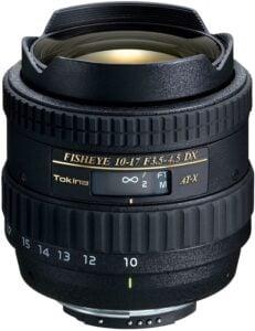 Best Canon Fisheye Lenses - Tokina 10-17mm