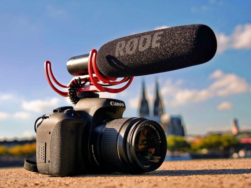 Microphone for Canon Camera - Rode VideoMic Shotgun Microphone