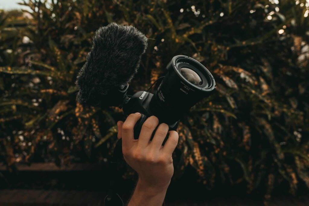 Microphone for Canon Camera - Comica CVM-V30 PRO Microphone