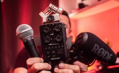 Microphone for Canon Camera