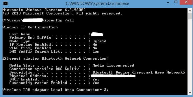 How to Delete History from Wifi Router - ipconfig