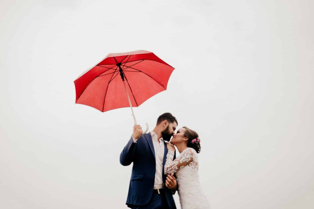 Wedding Photography Posing - Umbrella shots