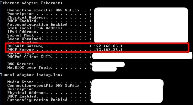how to check wifi router history - CMD