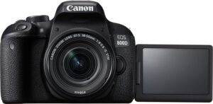 Best Cameras for Cooking Videos - Canon EOS Rebel T7 DSLR Camera