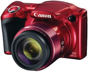 Best Cameras for Cooking Videos - Canon PowerShot SX420 Digital Camera