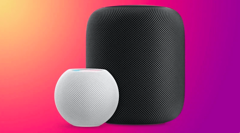 new software update for HomePod and HomePod Mini