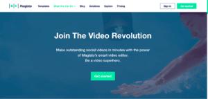 Best Video Editors for Chromebook - Magisto