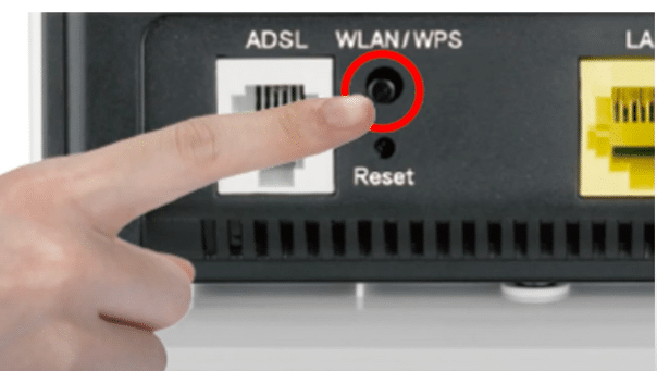 Connect Canon Printer with WPS Method