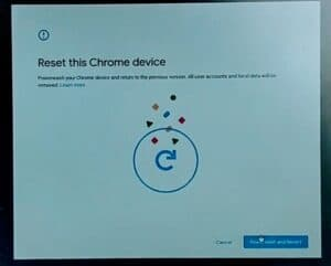 Factory Reset Chromebook Without Password