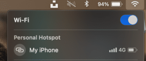 How To Use iPhone As Hotspot For Laptop? - Use Wi-Fi